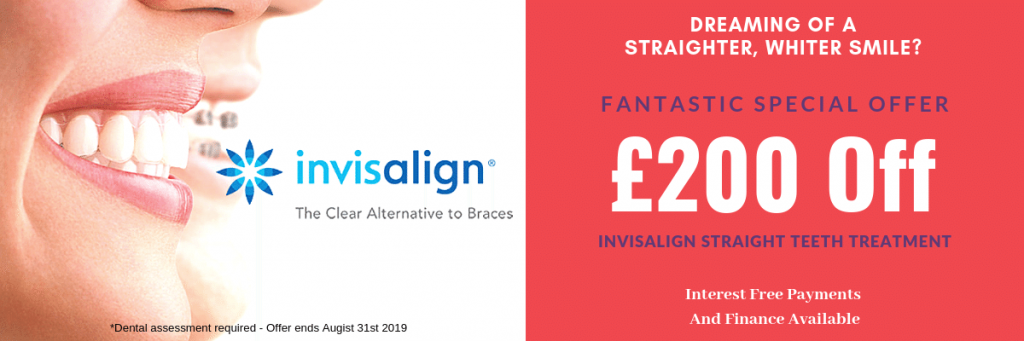 straight teeth offer Invisalign
